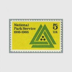 アメリカ 1966年国立公園局50年
