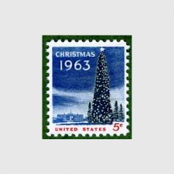 アメリカ 1963年クリスマスツリー