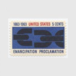 アメリカ 1963年奴隷解放宣言100年