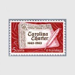 アメリカ 1963年カロライナ憲章300年