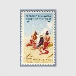 アメリカ 1961年画家レミントン