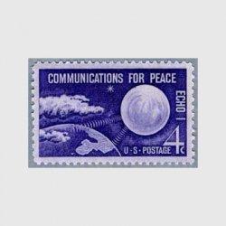 アメリカ 1960年通信衛星エコー1号
