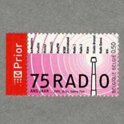 ベルギー 2005年ラジオ放送75年