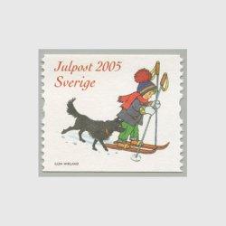 スウェーデン 2005年クリスマスコイル少女と犬