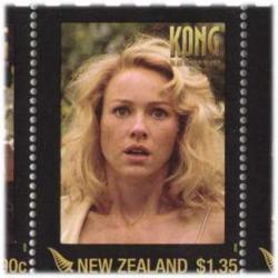 ニュージーランド 2005年キングコング5種連刷