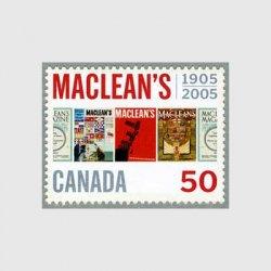 カナダ 2005年雑誌マクリーンズ100年