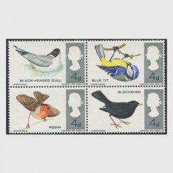 イギリス 1966年イギリスの鳥4種