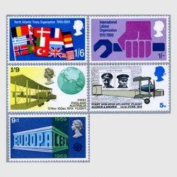 イギリス 1969年NATO20年など全5種