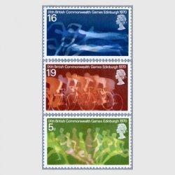 イギリス 1970年第9回英連邦競技会3種