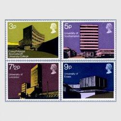 イギリス 1971年イギリスの大学建築4種