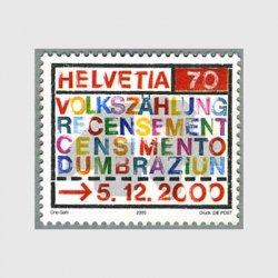 スイス 2000年国勢調査2000