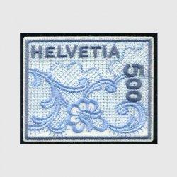スイス 2000年ザンクトガレンの刺繍