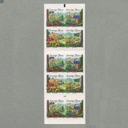 スウェーデン 2004年森 切手帳