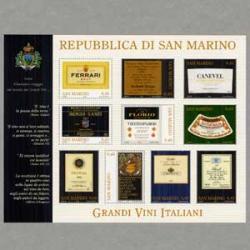 サンマリノ 2005年イタリアンワインのラベル