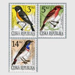 チェコ共和国 1994年歌鳥3種