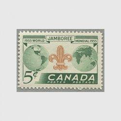 カナダ 1955年ボーイスカウトジャンボリー