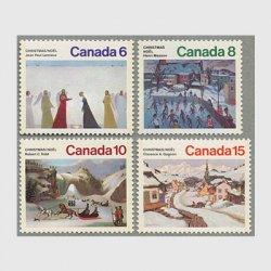 カナダ 1974年クリスマス4種