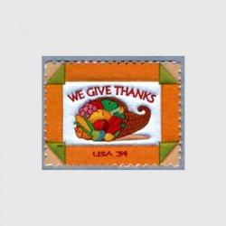 アメリカ 2001年感謝祭