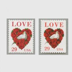 アメリカ 1994年LOVE バラとハト