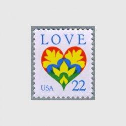 アメリカ 1987年愛の切手ハートマーク