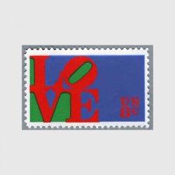 アメリカ 1973年愛の切手LOVE
