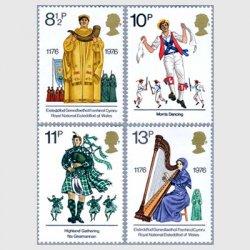 イギリス 1976年イギリスの伝統文化4種