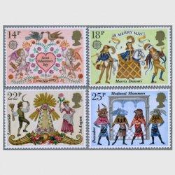 イギリス 1981年民間伝承4種