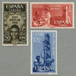 スペイン領サハラ 1965年平和25年3種