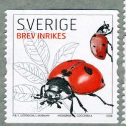 スウェーデン 2008年昆虫
