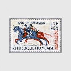 フランス 1958年バイユーのつづれ織に描かれた騎士