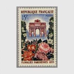 フランス 1959年パリ花祭り
