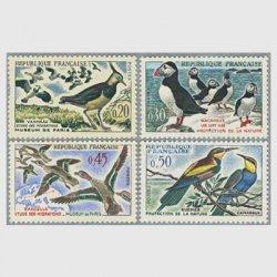 フランス 1960年鳥4種