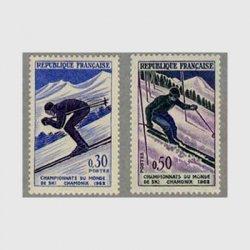 フランス 1962年シャモニースキー選手権大会2種