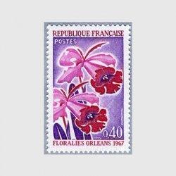 フランス 1967年オルレアンの花祭りカトレア