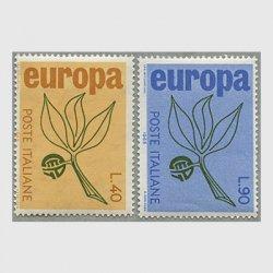 イタリア 1965年ヨーロッパ切手2種