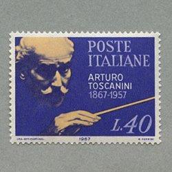 イタリア 1967年指揮者トスカニーニ
