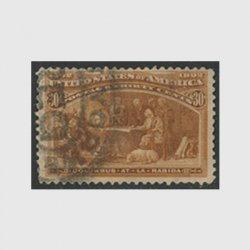 アメリカ 1893年世界コロンブス博覧会30セント(使用済)