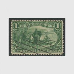 アメリカ 1898年トランスミシシッピ博覧会1セント(使用済)