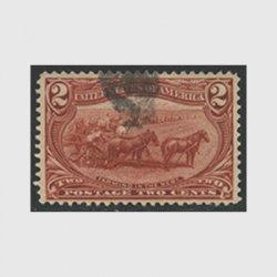 アメリカ 1898年トランスミシシッピ博覧会2セント(使用済)