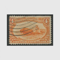 アメリカ 1898年トランスミシシッピ博覧会4セント(使用済)