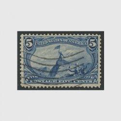 アメリカ 1898年トランスミシシッピ博覧会5セント(使用済)