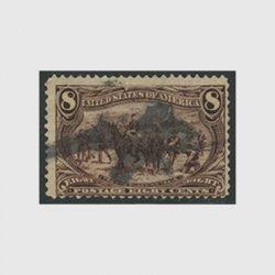 アメリカ 1898年トランスミシシッピ博覧会8セント(使用済)