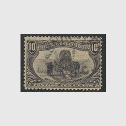 アメリカ 1898年トランスミシシッピ博覧会10セント(使用済)
