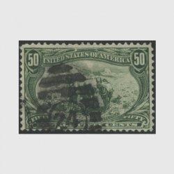 アメリカ 1898年トランスミシシッピ博覧会50セント(使用済)