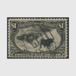 アメリカ 1898年トランスミシシッピ博覧会1ドル(使用済)
