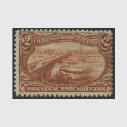 アメリカ 1898年トランスミシシッピ博覧会2ドル(使用済)