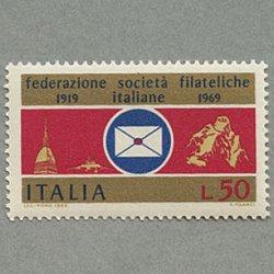 イタリア 1969年イタリア郵趣協会50年