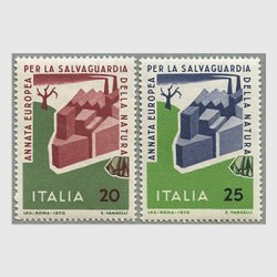 イタリア 1970年ヨーロッパ自然保護2種