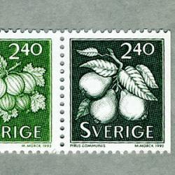 スウェーデン 1993年ラ・フランスなど2種