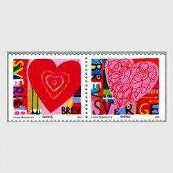 スウェーデン 2000年LOVE2種